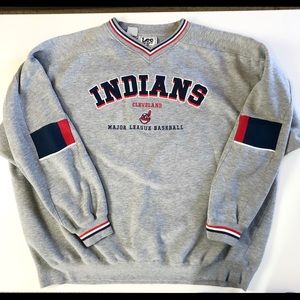Lee Cleveland Indians Chief Wahoo Fleece Pullover